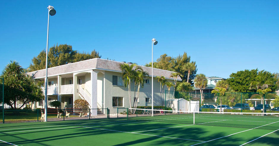 Nautilus Tennis Court